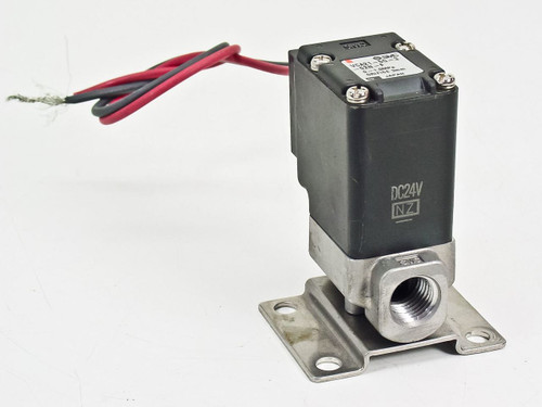 SMC 2 Port 24 Volt Direct Operated Solenoid Valve For Air (VCA21-5G-3-02N-F 00)
