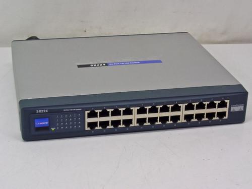 Linksys 24-Port 10/100 Switch (SR224)