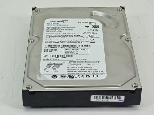 Seagate 80GB SATA 7200rpm HDD Dell KN408 (ST3808110AS)