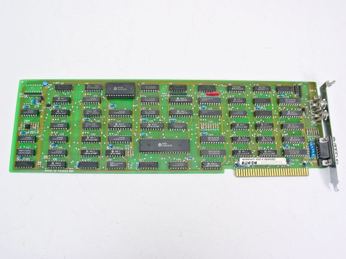 Generic 8 Bit ISA Video Card with Dual RCA and 9-pin Output - Vintage 702066