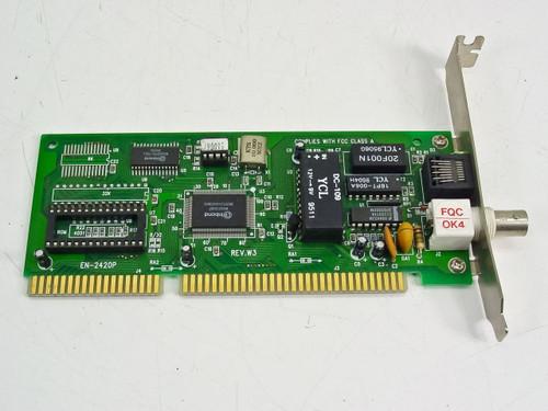 Generic 16 Bit ISA Coax Network Card (EN-2420P)
