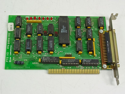 Compugraphic 8Bit 37 Pin Controller Card Vintage 1985 (64814-002)