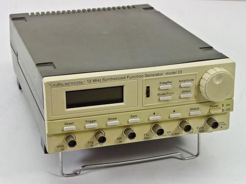 Wavetek Model 23 1 kHz-12MHz Synthesized Function Generator