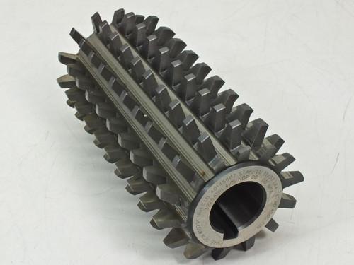 Star SU LLC PM45 TiCN Carbide Steel Gear Cutting Hob with Damage (410291)