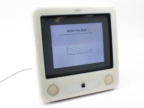 Apple eMac M8951LL/A G4 1 GHZ, 512 MB RAM, 80 GB Hard Drive (A1002)
