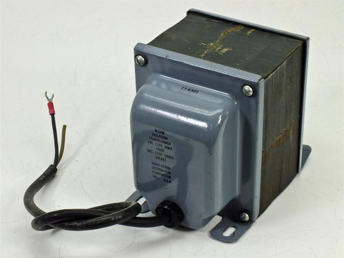 Triad-Ultrad Isolation Transformer 115V 60 Hz 500 VA (N-57M)