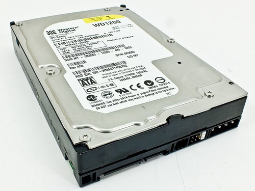 Dell 120GB SATA Hard Drive 3GB/s Western Digital WD1200JD-75GBB0 (R3060)