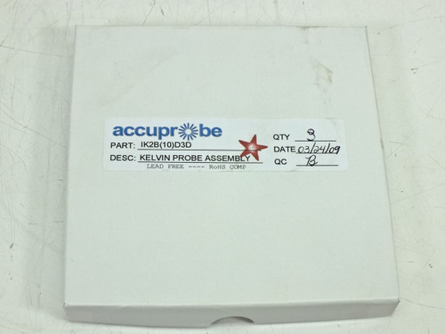 Accuprobe Inc Kelvin-Type Z-Adjustable Probe (Qty1) (IK2B(10)D3D)