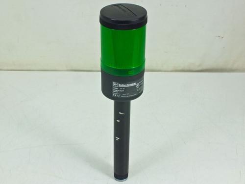 Cutler-Hammer Stacklight Base with Green Light Module (E26BL)