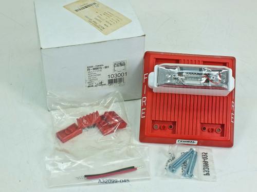 Fenwal Multitone Fire Alarm w/ Strobe (75-000015-001)