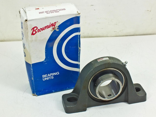 """Browning Valuline Normal Duty Set Screw Pillow Block Bearing 1-15/16"""" (VPS-231)"""