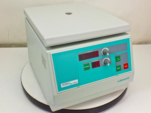 Hermle Centrifuge 6000 RPM with 6 Place Rotor 220.97 V01 360g (Z200A)