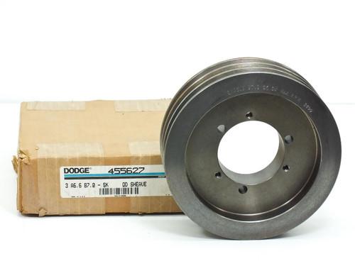 Dodge Sheave (455627) 3-Groove A6.6 B7.0 SK