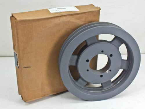 "Browning 2 V-Groove Q-D C-Belt Cast Iron Sheave 11.4"" Diameter (2C110SF)"