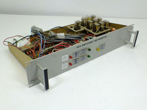 Satellite Transmission Systems HPA Switching & Monitor Assembly C14922 Rev. B