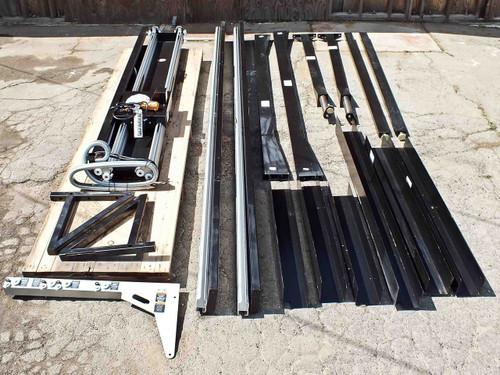 Ingersoll-Rand Zimmerman Z Rail Harrington Overhead Trolly Crane Hoist (ZRA1)
