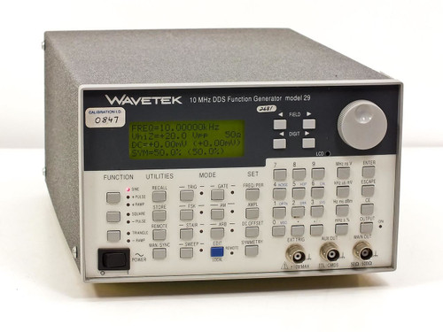 Wavetek 29 10 MHz DDS Function Generator