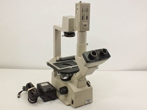 Nikon Inverted Research Phase Microscope w Trinocular Head (TMS-F)