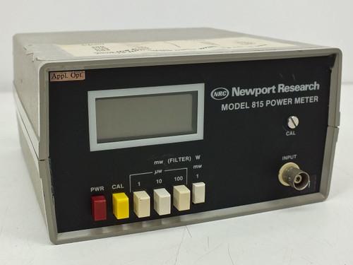 Newport Research Power meter (815)