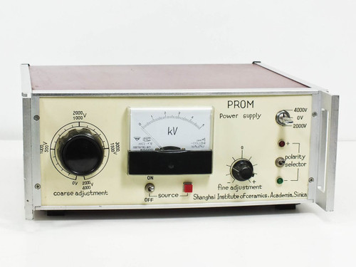 Shanghai PROM 0 to 4 KV DC High Voltage Power Supply - Made by Spellman