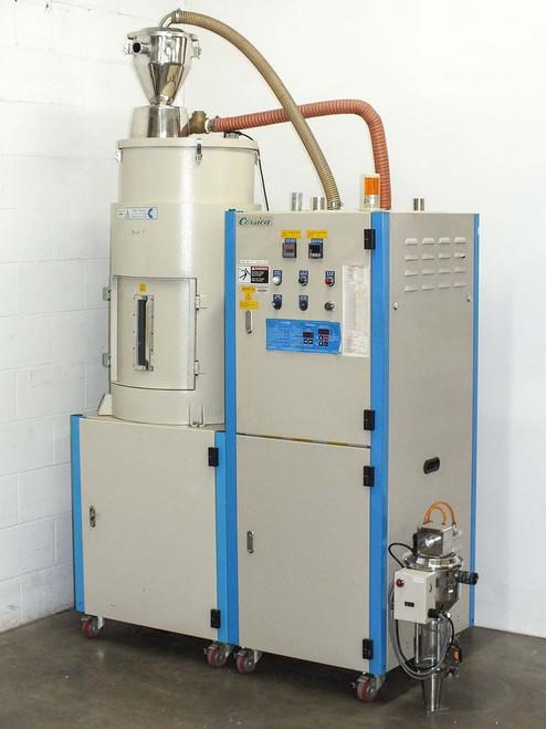 Corsica MCD-100-135 Polycarbonate Materials Dryer / Dehumidifier 480 VAC