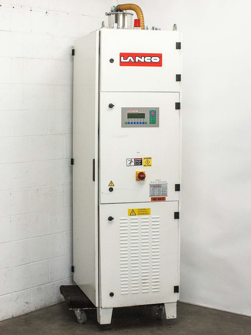 Lanco LTX08 Polycarbonate Plastics Materials Dryer for Injection Molder