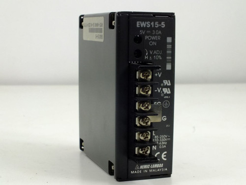 Nemic-Lambda Power Supply 5V 3.0A (EWS15-5)