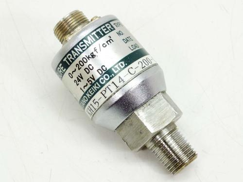 Nagano Keiki Co KH15 Pressure transmitter (KH15-PT14-C-200-0.5)