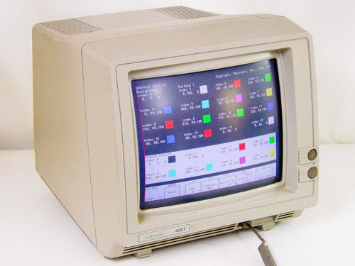 Tektronix Terminal Computer Display - no keyboard (4207)