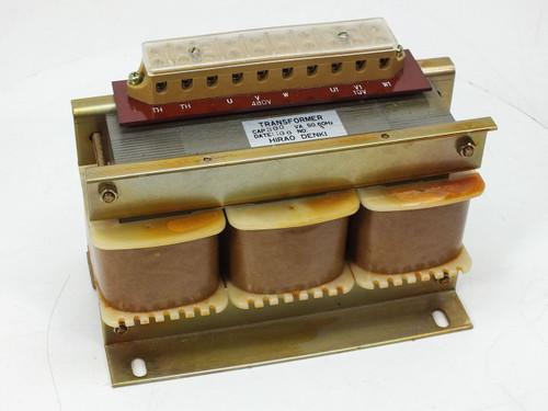 Hirao Denki Transformer - 480 V 19 Volt 50 60 Hz 300VA
