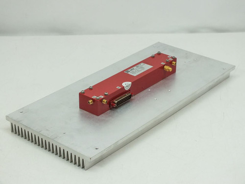 Varian TWTA Amp with Heatsink 135954-00M VZC-3068EW