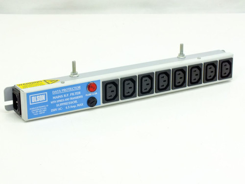 Olson 3908 Data Protector Mains R.F Filter with Spikes and Transients Suppressor 250VAC 6.3A