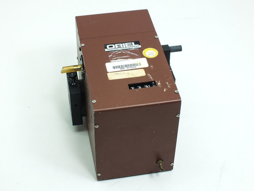 Oriel 7240 Monochromator Manual Adjustment with 7270 280nm Optic