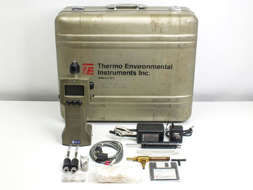 Thermo Environmental Organic Vapor Meter Datalogger with Case & Accessories