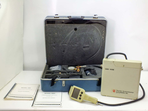 Thermo Environmental Portable Hydrocarbon Vapor Meter with Case (680 HVM)