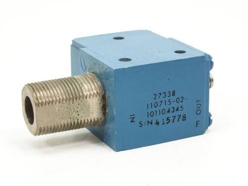 Blue RF Isolator- 27338 (110715-02)