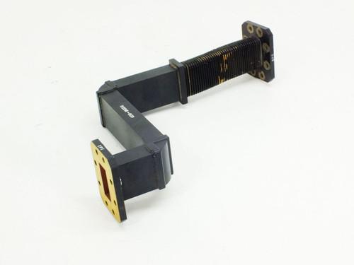 Black Flex Waveguide (C Band WR-137)