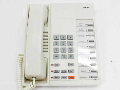 Toshiba 10 Function Keys, Digital, Speaker Phone - White (DKT2010-H)