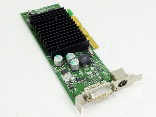 Dell 64MB AGP Low Profile Video Card DVI w/TV Out Nvidia (G0771)