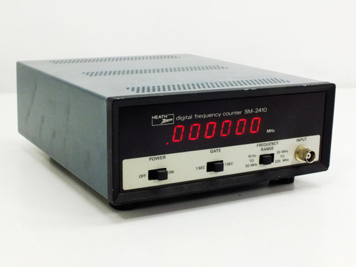 Heath Zenith SM-2410 Digital frequency counter