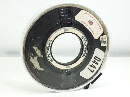"9-Track Certified Total Surface 1/2"" Tape Reel 10.5-inch diameter (3200 FCI)"