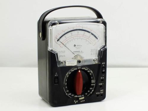 Triplett 630-NA Volt / Ohm Meter Type 4 Suspension 0-1200 VAC/VDC VOM