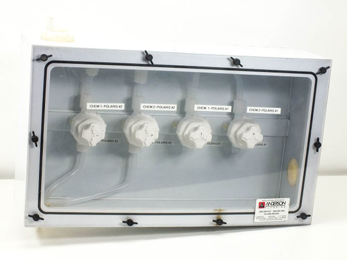 Fluoroware Chemical Control Valves in Sealed Enclosure (201-37)