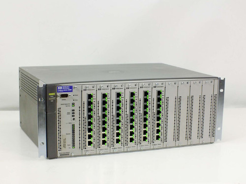 HP Procurve switch 4000M with 6 J4111A Modules (J4121A)