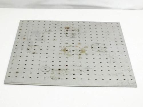 "Steel Optical Breadboard 0.25"" Holes on 1"" Grid (18"" x 18"")"