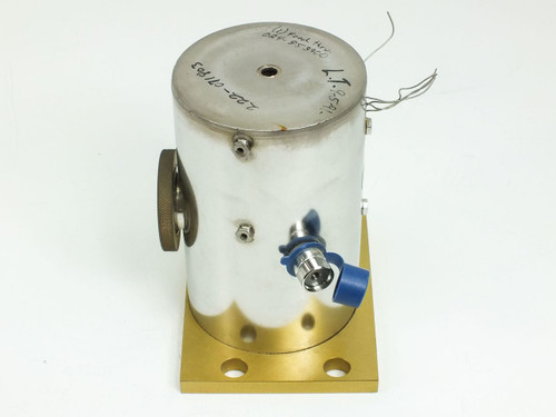 Stainless Steele with Electrical Data Connections (Vacuum Chamber)