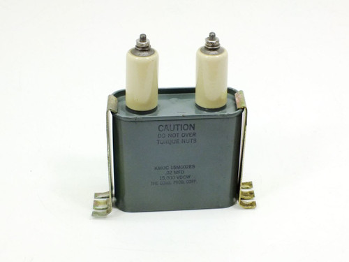 Condenser Products .02 MFD Capacitors 15,000 Volts DC (KMOC 15M002ES)