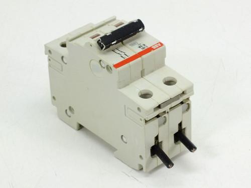 Abb S282 K6w K6a S282 480y 277 Vac 10ka 2 Pole Circuit