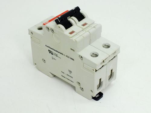 ABB Z6A S282 2 Pole Circuit Breaker S282UC-Z6
