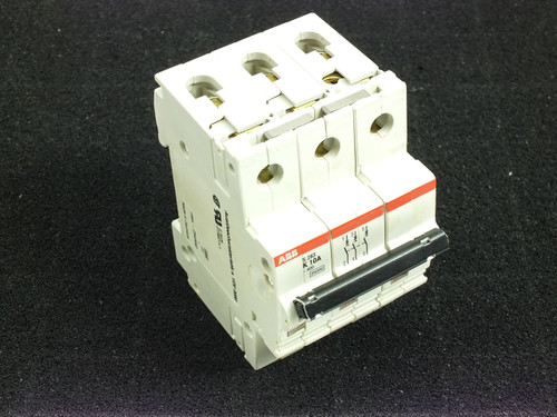 ABB K10A S283 480Y/277 VAC 10kA 3 Pole Circuit Breaker (S283-K10W)